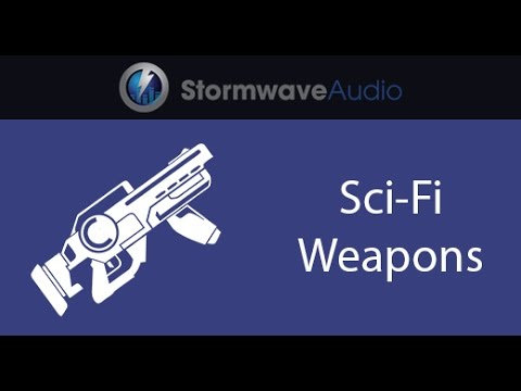 Sci-Fi Weapon SFX Pack 3 (Sound Effects Collection)