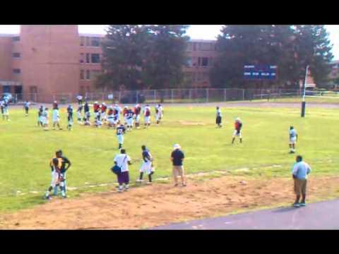Largo Lions 2010 Varsity Scrimmage Northwestern High School, Baltimore MD