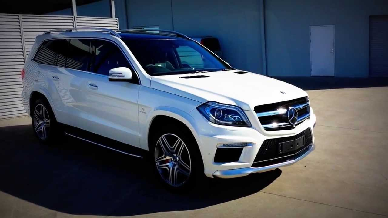 Diamond White Mercedes Benz Amg Gl63 Walk Around Exterior