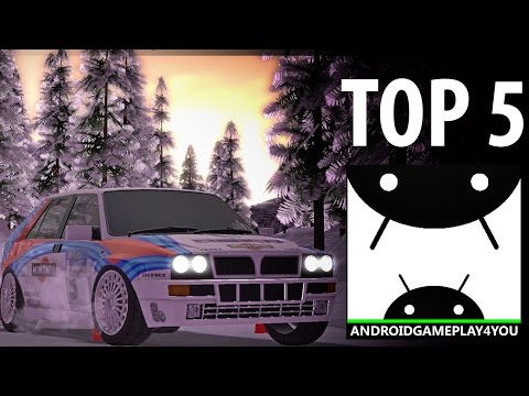 TOP 5 BEST ANDROID RALLY RACING GAMES 2016!
