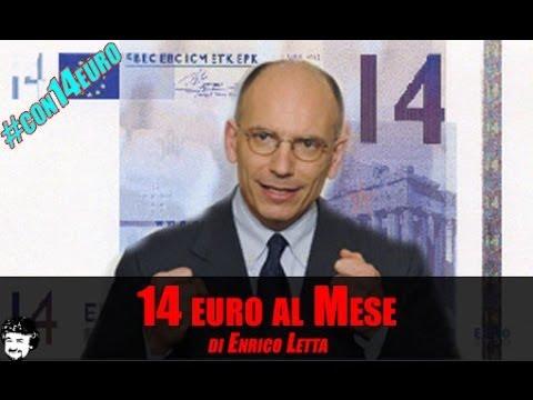 14 euro al mese, di Enrico Letta