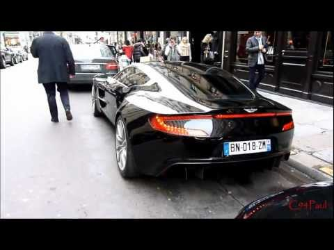 Aston Martin One-77 start up & acceleration FAIL