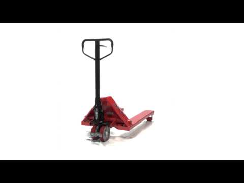Wheeled Nosed Pallet Truck PM5-2738-WN 360 Video