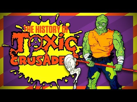 The History of Toxic Crusaders: The Toxic Avenger Gets Animated