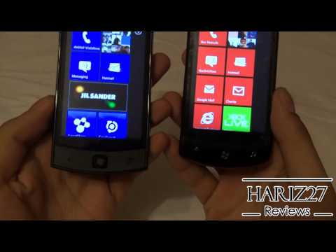 LG Jil Sander E906 Vs LG Optimus 7 E900 (Windows Phone 7.5) DE