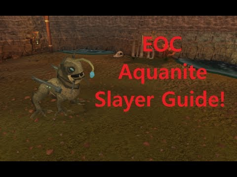 EOC | Aquanite Slayer Guide! 60k Slayer Xp/h! Runescape Commentary!