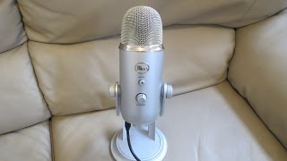 Blue Yeti Microphone Set up on Mac + PC Recording Review + Voice Test + Unboxing
