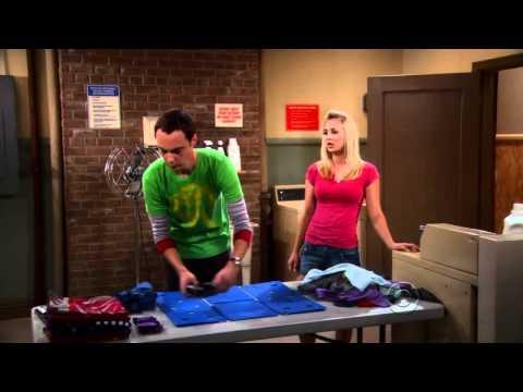 Dobrando camiseta - Método Sheldon (TBBT)