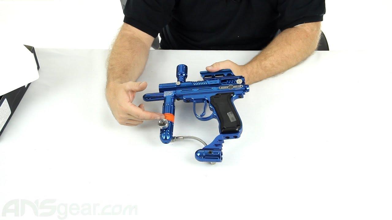 Silver Bullet Paintball Gun Bullet Lcd Paintball Gun