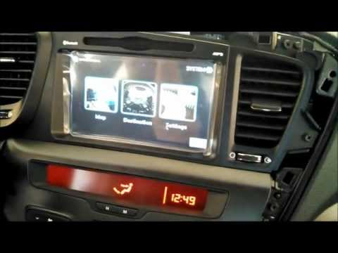 How to Install UNAVI Factory Navigation System in KIA Optima