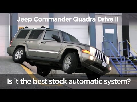 Jeep Commander Quadra Drive II / The best stock automatic system