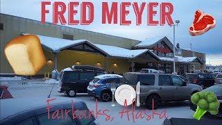 A LOOK INSIDE FRED MEYER IN FAIRBANKS, ALASKA