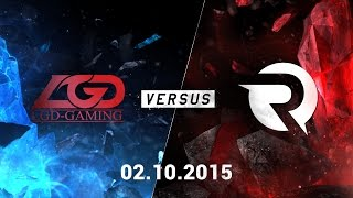 Video clip [02.10.2015] LGD vs OG [CKTG2015 - Bảng D]