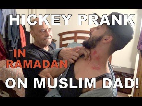 HICKEY PRANK ON MUSLIM DAD IN RAMADAN!