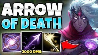 *ONE SHOT WITH W* FULL AP VARUS TURNS YOUR Q INTO A MISSILE! - League of Legends