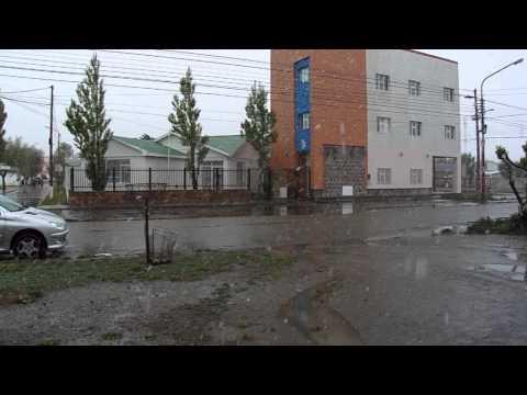 NEVANDO EN RIO GALLEGOS-SANTA CRUZ-ARGENTINA 30-10-2014