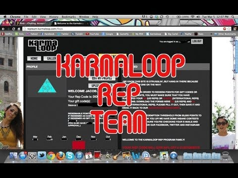 Karmaloop Rep Team FAQ's and How It Works!