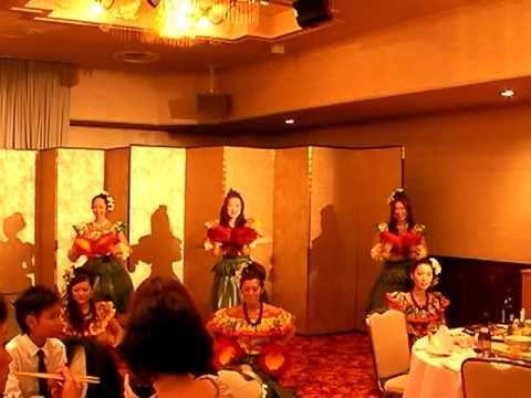 佐川 結婚披露パーティー 余興 フラダンス