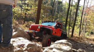 Twin Tiers Jeeps Rausch Creek trip October 2016