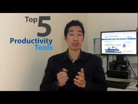 Top 5 Productivity Tools That Works!