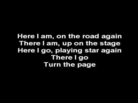 Metallica - Turn The Page (lyrics On Screen) video