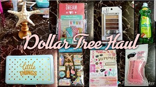 DOLLAR TREE HAUL | NEW ITEM'S | JULY 13 2018