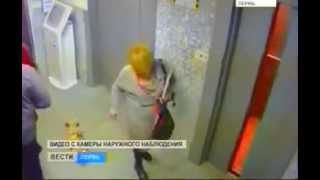 Man Saves Dog from Elevator