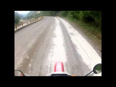 Fahrt von Valenzia (Dumaguete) mit dem Enduro nach Malabo nach GIK Standard
