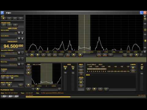FM DX sporadic E in Holland: Libya 94.5 MHz 10-7-2016