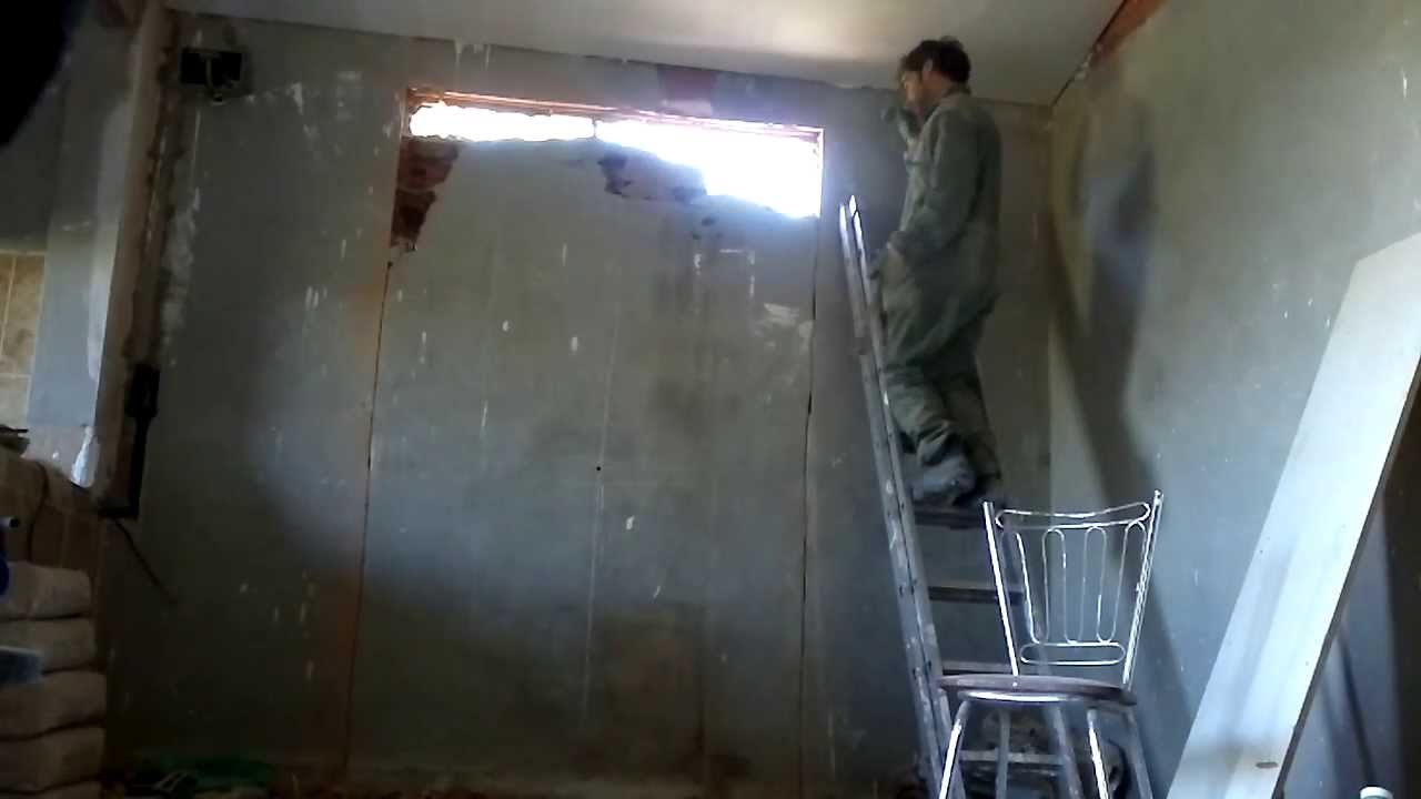 Como demoler una pared youtube - Como empapelar una pared ...