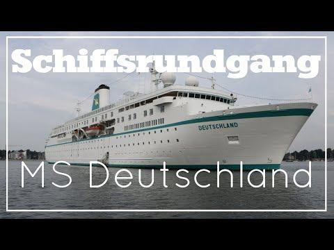MS Deutschland - Schiffsrundgang - Phoenix Reisen