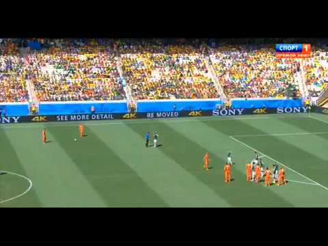 Netherlands vs Mexico 2-1 All Goals and Highlights ~ World Cup 2014