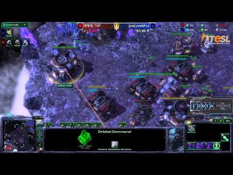TESL  Hui (P) vs Top (T) - StarCraft 2 - Season Two Round Robin -  G001