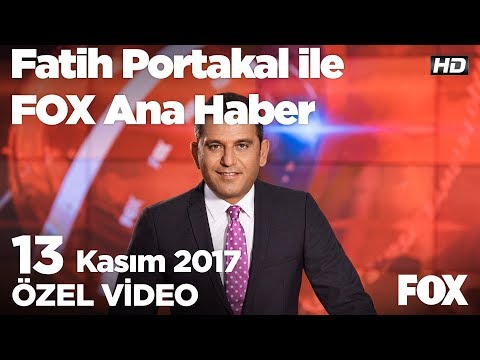 Erdoğan: Askeri çözüm yoksa askerinizi çekin! 13 Kasım 2017 Fatih Portakal ile FOX Ana Haber