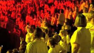 Young Voices Pop Medley 2012 Manchster MEN Arena