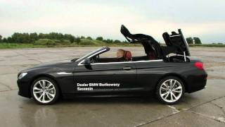 New BMW 650i Cabrio F12 (2011) - Roof in operation