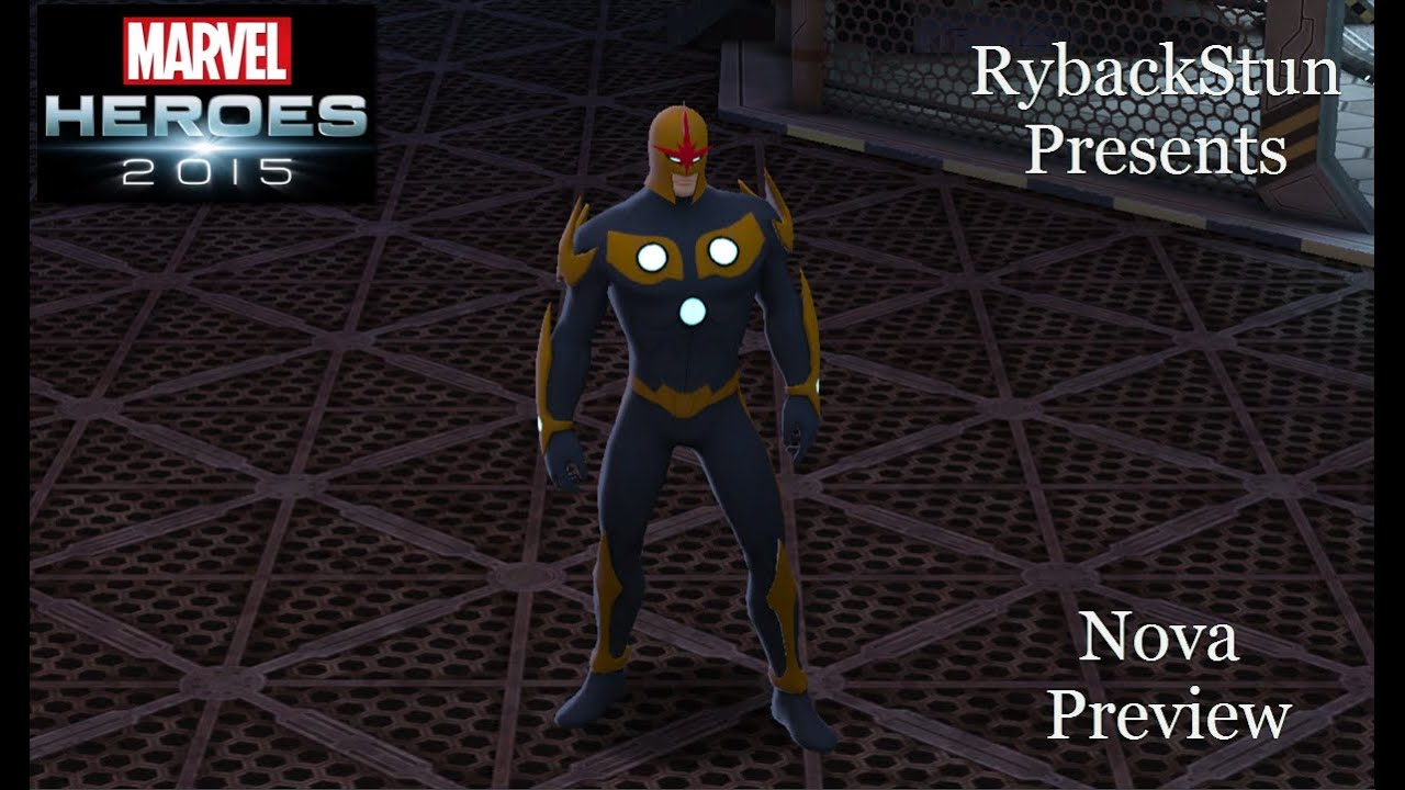 Costume Marvel Heroes Marvel Heroes Nova Preview