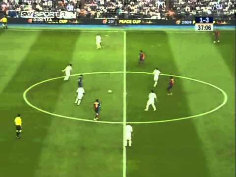 Yaya Toure vs Real Madrid El Classico 09 [HD]
