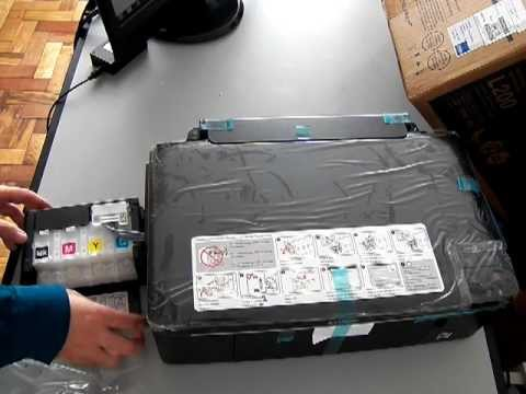 Unbox Impresora Epson L200 com Bulk Ink Original de Fábrica Part 1