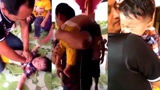 Kỳ diệu cha cứu sống con bị đuối nước tim ngừng đập