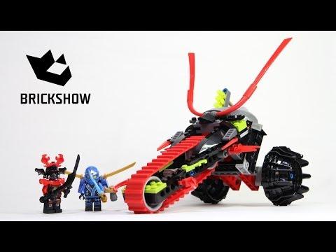 Lego Ninjago 70501 Warrior Bike Build & Review
