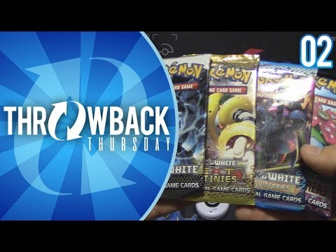 Opening Black & White Era Packs of Pokemon Cards! | Throwback Thursday #2