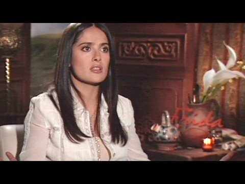 Salma Hayek in 2002 - Frida Interview Video