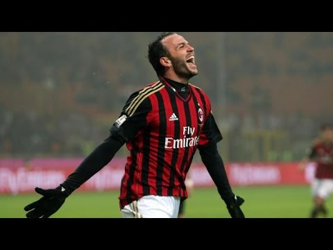 Giampaolo Pazzini all goals 2013/14 AC Milan