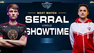 ShoWTimE vs Serral PvZ - Grand Final - WCS Challenger Europe