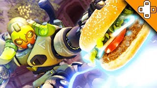 ORISA SANDWICH ULT?! WTF?! Overwatch Funny & Epic Moments 396