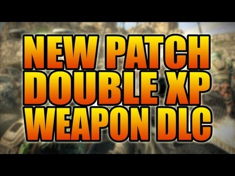 Black Ops 2 - New Multiplayer Changes: Patch, Double XP, Weapon DLC, and more! (BO2 Online Gameplay)