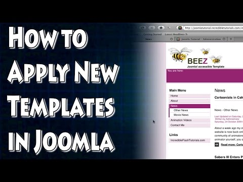 Joomla Tutorial: Working With Templates