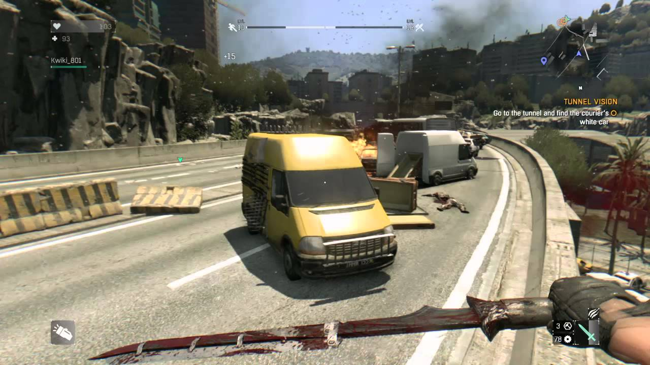 Tunnel Vision Dying Light Location Dying Light Walkthrough Tunnel