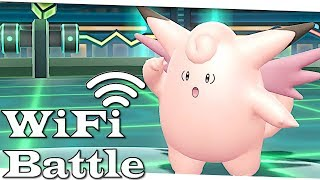 AWESOME GEGNER! Pokemon WiFi Battle (Let's Go Pikachu & Evoli)